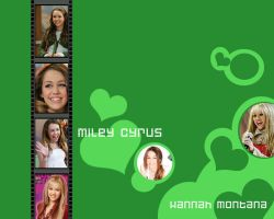 Miley Cyrus-Hanah Montana WP by ShadowAndEmily