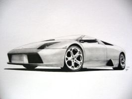 -Murcielago Roadster- by under18carbon
