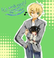 APH: Doujinshi Cover by Watery21