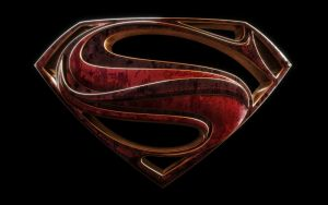 Man Of Steel Shield by blendedhead