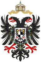 Coat of arms of the German Empire (1948) by TiltschMaster