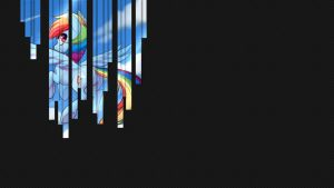 Rainbow Dash - Wallpaper [V.1] by Xris777