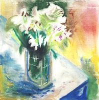 Flowers in Vase by haute-clere