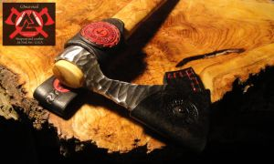 G3survival Axe and Burl handle by G3survival