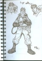 Ray Stanz Ghostbuster by vibog-3