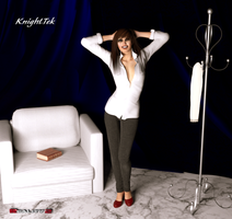 Posing Christine by KnightTek