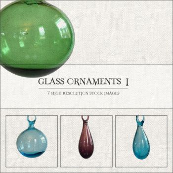 Glass Ornaments I by GrayscaleStock
