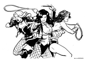 DC Angels by stokesbook