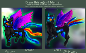 Draw this again meme by Jusury
