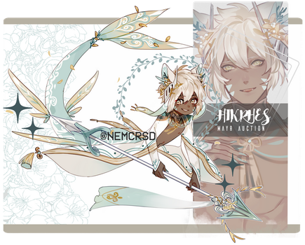 Hikrhes auction closed [AB added!] by nemcrsd