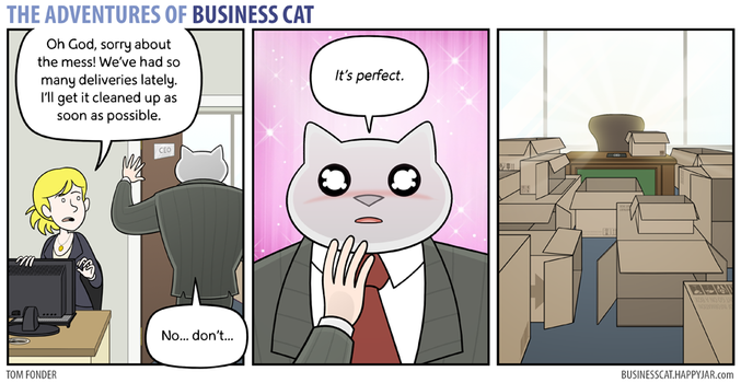 The Adventures of Business Cat - Valhalla by tomfonder