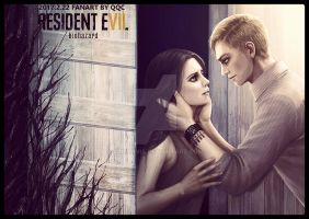 Mia and Ethan-Resident evil 7 by qqcworld