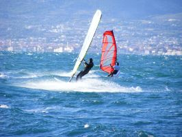 Windsurfing 1 by maymared