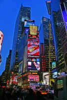 Times Square by carterr