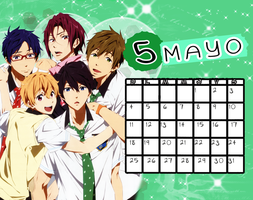 Calendario|Mayo2014 by athenayabuki