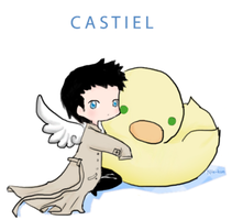 Castiel by Nile-kun