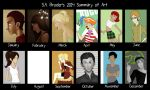 S.A.Broder 2014 Summary of Art by sabroder