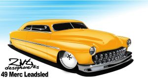 49 Merc Leadsled by zvtdesigns