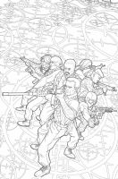 GI JOE Origins 9 cover inks by gatchatom