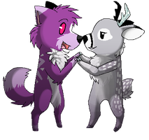 .:CO:. '' You're Real ! '' by SpunkyRacoon