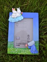Moomin Photo Frame by DoodleDuo