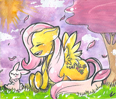Fluttershy by Zuckey