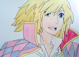 Howl- Color by margeaux202