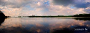 Panorama - Lake by evenstarr