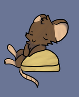 *The mouse image on the journal skin* by qoaties