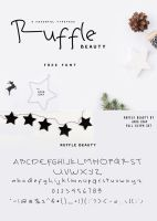 Ruffle Beauty Free Font by Designslots
