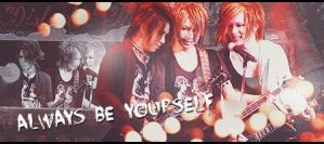 Be yourself... by NobodyFamiliar