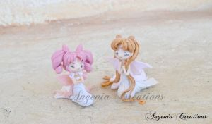 serenity and chibiusa by AngeniaC