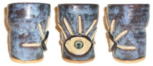 Eye Cup #38 With One Eye by aberrantceramics