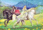 Idril on a Horse Ride by Venlian