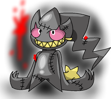 Creepy Banette by YoshiMister