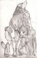 werewolves by AnimalFlavoredGloss