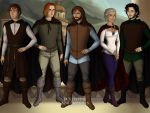 HARPG Middle Earth Human NPCs by Okami-Haru