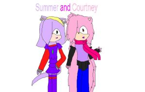 Summer and Courtney by nobleheart123