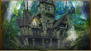 Hunted house in the wood by BrotherGuy