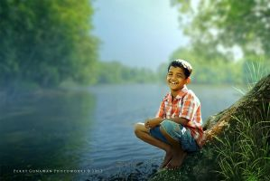 Bliss In Solitude by perigunawan