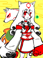 Okami by animeartist6