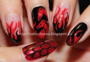 Fire and Blood: House Targaryen by neko-dansu
