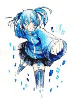 Digital girl -ENE- by anne-rica