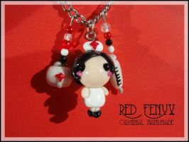 Little Nurse Necklace by RedFenyx