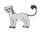 Leftover Lioness 2 by MilkaAdoptions