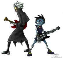 Goth and Punk by JenL