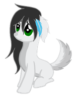 [Snow Hoof Lupus] Snowball by RicePoison