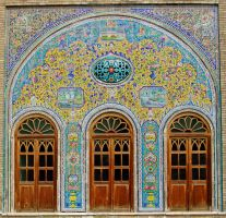 Persian Architecture 01 - Tiles and Doors by fuguestock