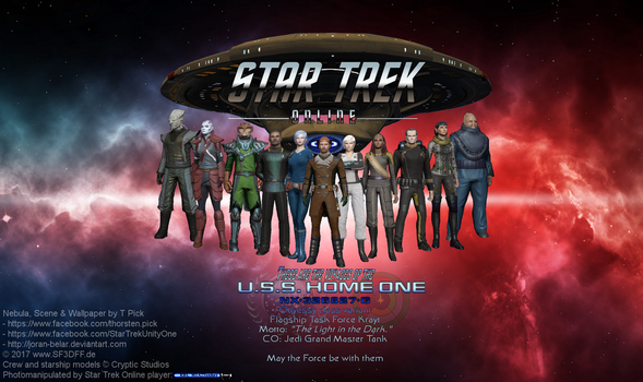 These are the voyages of the starship Home One by RBL-M1A2Tanker