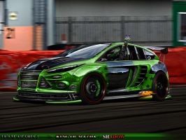 Ford Focus WTB TEAM ARABIA1 by shadowchoper